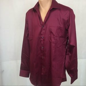 Geoffrey Beene, Fitted 15 1/2, Wrinkle Free Shirt